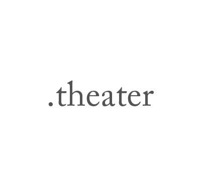 Top-Level-Domain .theater
