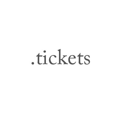 Top-Level-Domain .tickets
