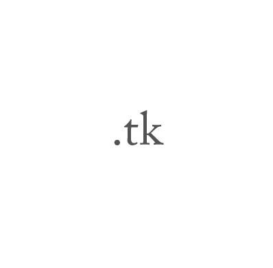 Top-Level-Domain .tk
