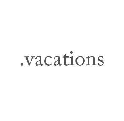 Top-Level-Domain .vacations