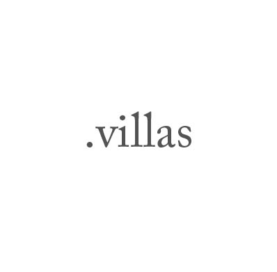 Top-Level-Domain .villas