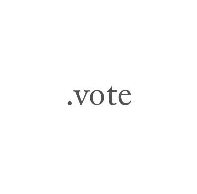 Top-Level-Domain .vote