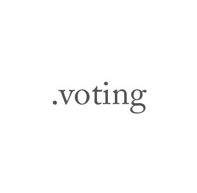 Top-Level-Domain .voting