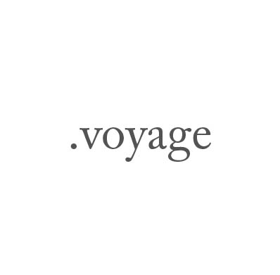 Top-Level-Domain .voyage