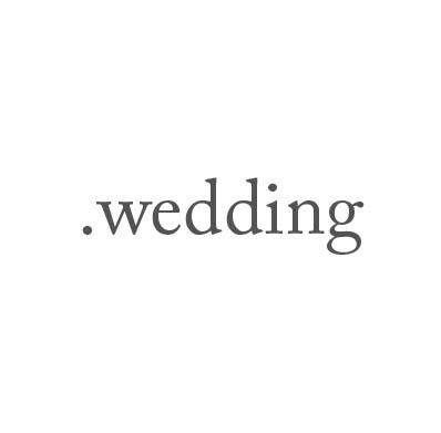 Top-Level-Domain .wedding