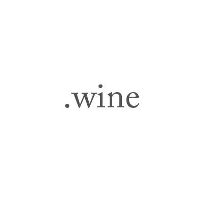 Top-Level-Domain .wine