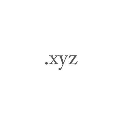 Top-Level-Domain .xyz